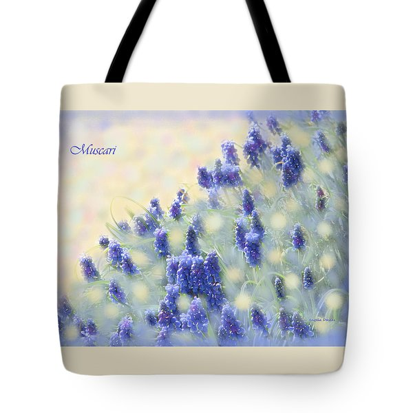 Muscari Morning Tote Bag