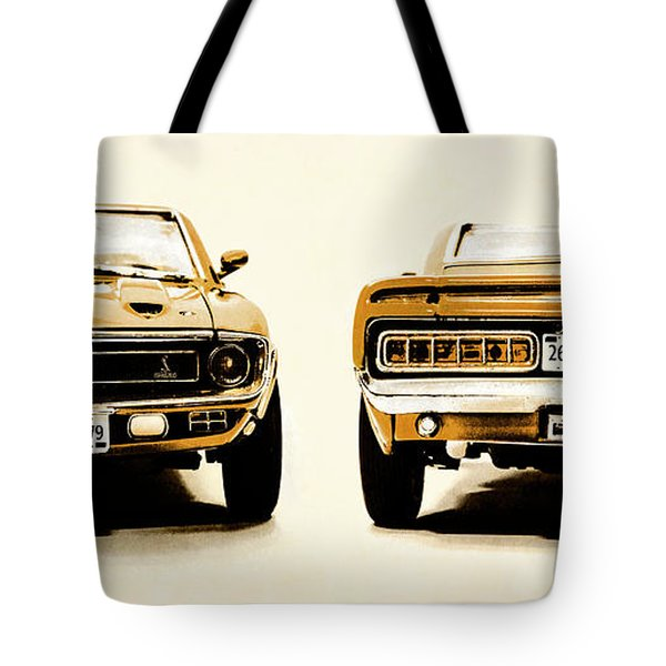 Muscle Machine Tote Bag