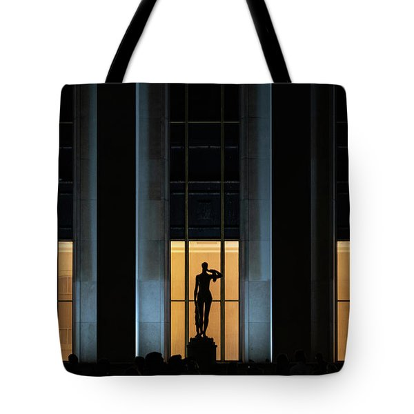 Tote Bag featuring the photograph Musee National De La Marine by Randy Scherkenbach