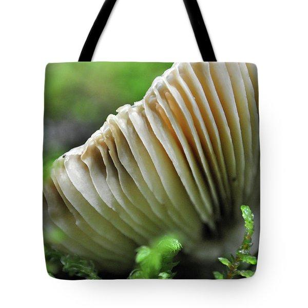 Mushroom Spaceship Tote Bag