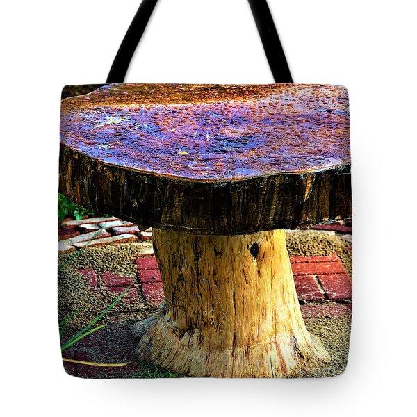 Mushroom Table Tote Bag