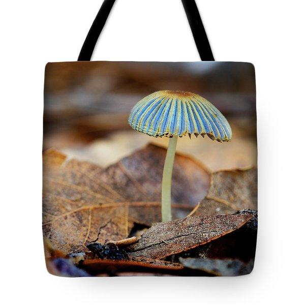 Mushroom Under The Oak Tree Tote Bag