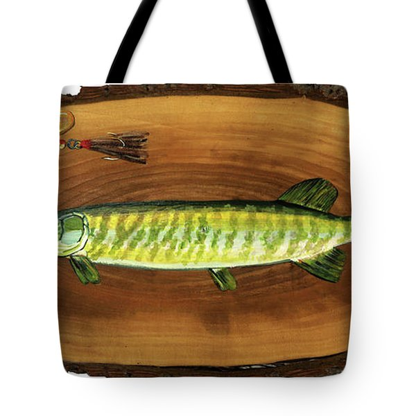 Muskellunge Tote Bag
