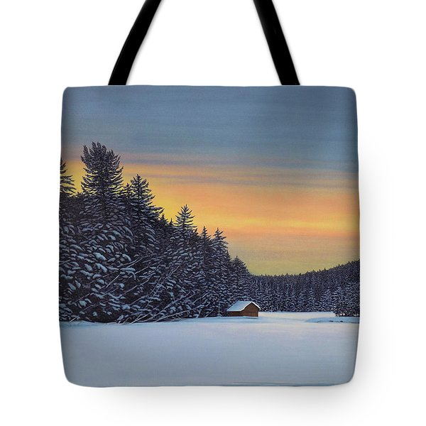 Muskoka Winter Tote Bag