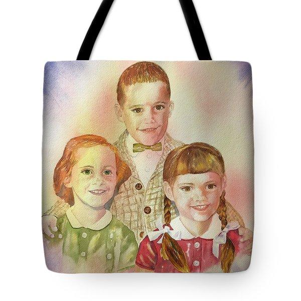 The Latimer Kids Tote Bag