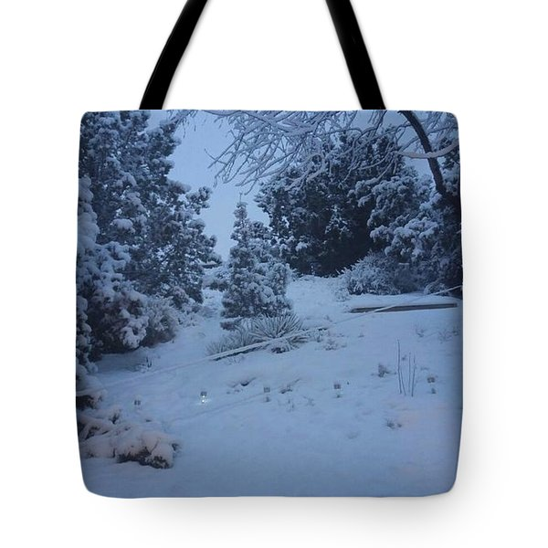 My Colorado Backyard Tote Bag