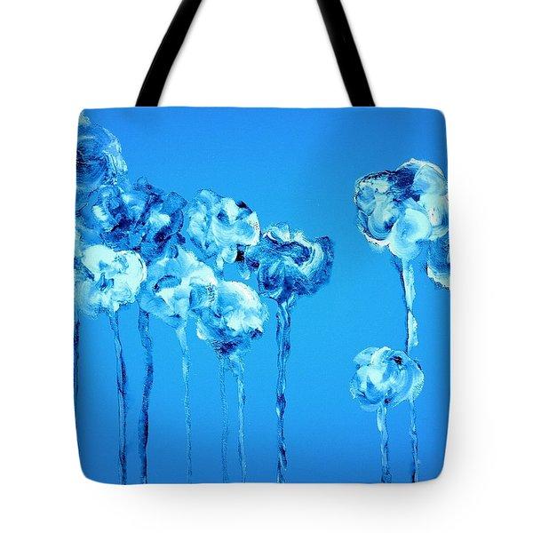 My Garden - Blue Tote Bag