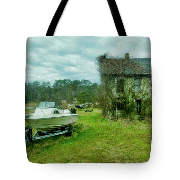 Auntie's Old House Tote Bag