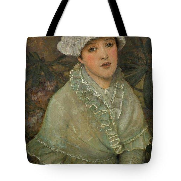 My Wee White Rose, 1882 Tote Bag