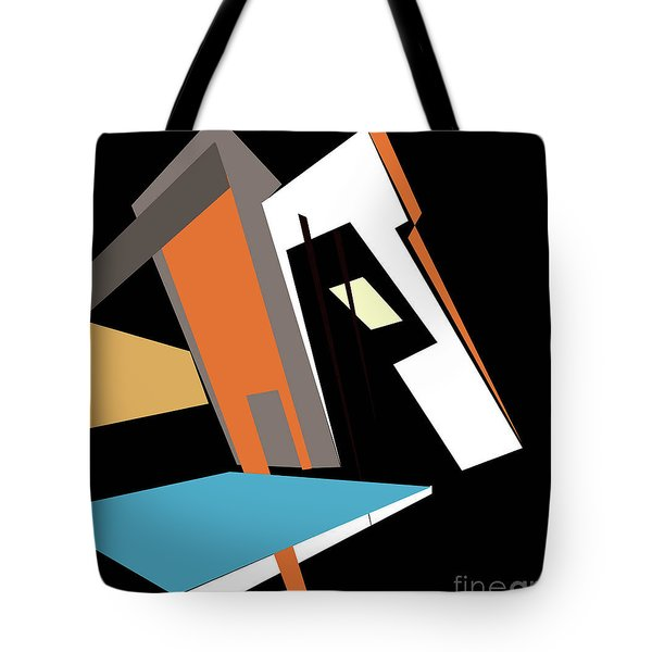 My World In Abstraction Tote Bag