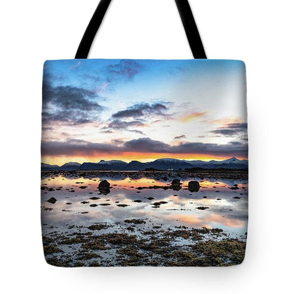 Myre Swapm Walkway On Vesteralen Norway Tote Bag