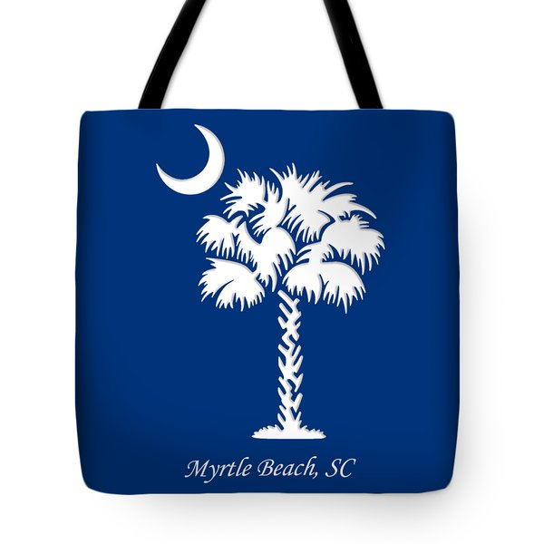 Myrtle Beach, Sc Tote Bag
