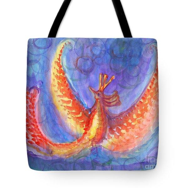 Mystical Phoenix Tote Bag