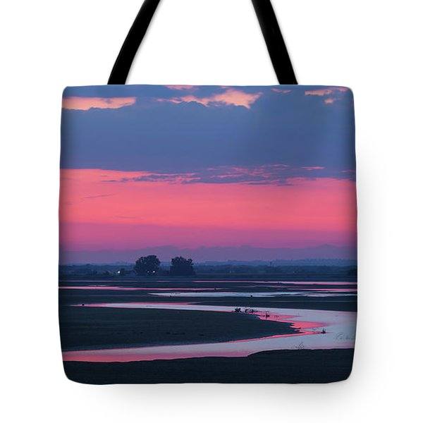 Tote Bag featuring the photograph Mystical River by Davor Zerjav