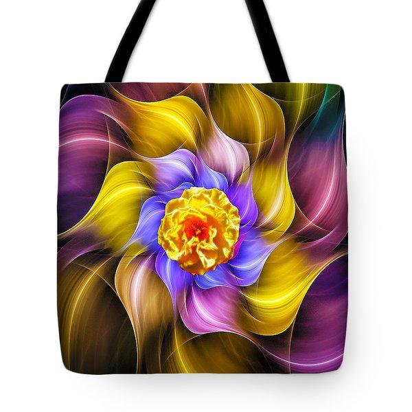 Mystical Rose Tote Bag