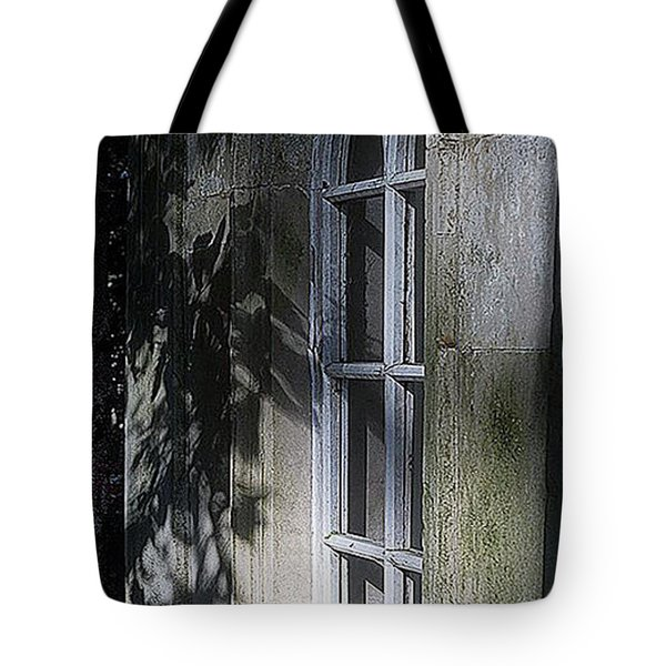 Mysterious Window Tote Bag