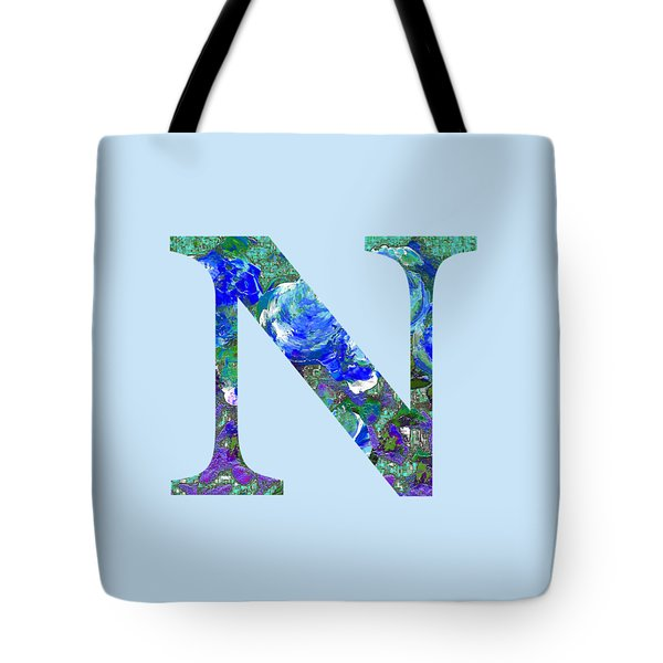 Tote Bag featuring the digital art N 2019 Collection by Corinne Carroll