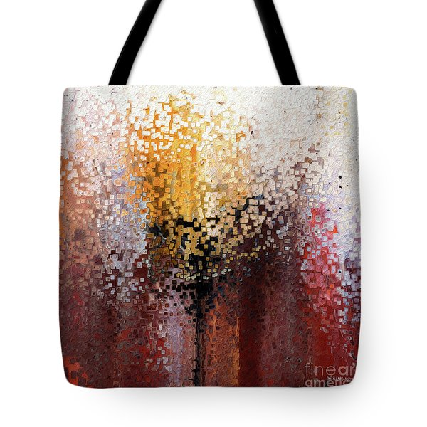 Nahum 1 7. A Stronghold Tote Bag