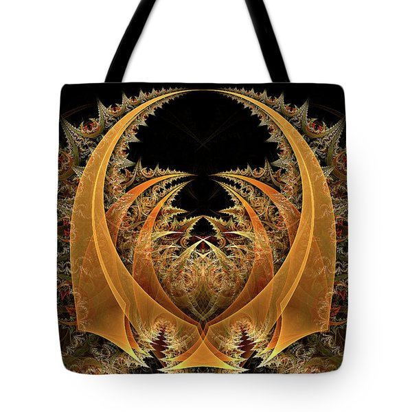 Tote Bag featuring the digital art Nahum by Missy Gainer