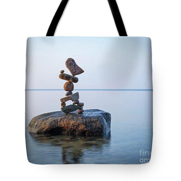 Zen Stack #9 Tote Bag