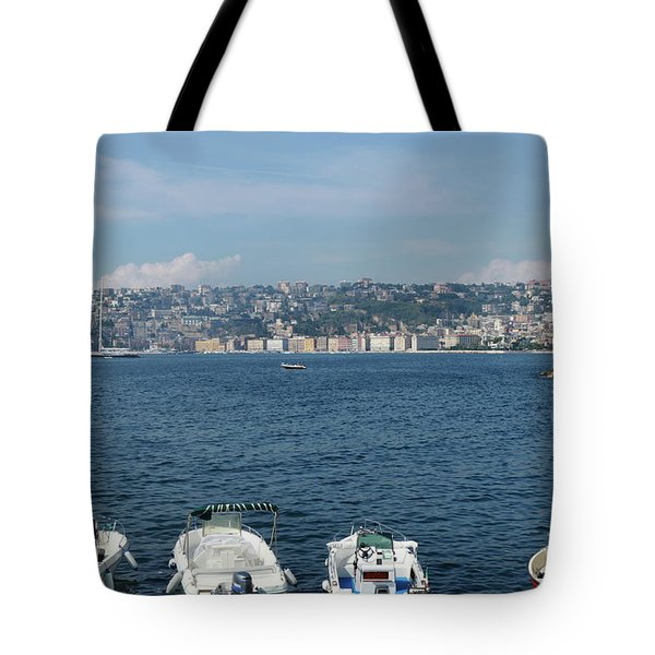 Naples Port Tote Bag