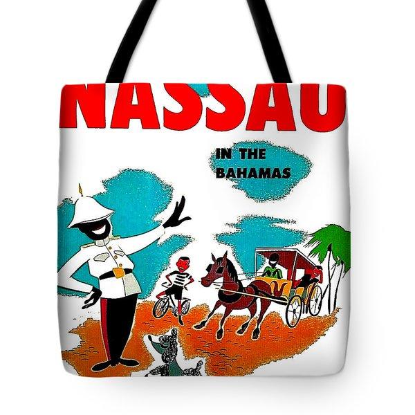 Nassau In The Bahamas Tote Bag