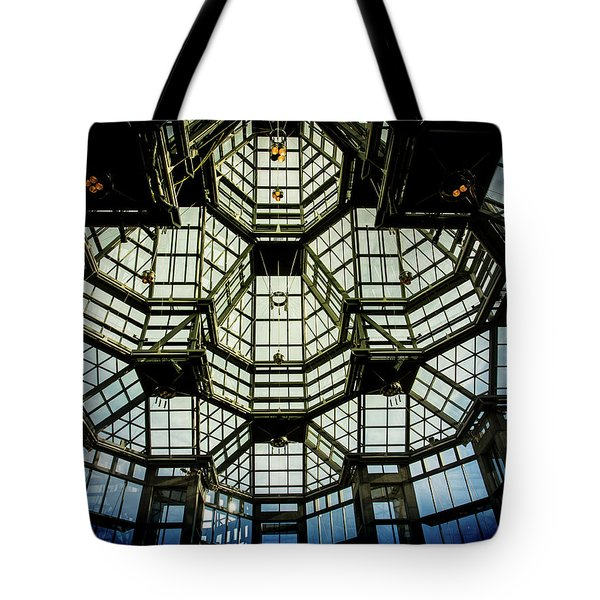 Glass Ceiling National Gallery Of Canada Tote Bag