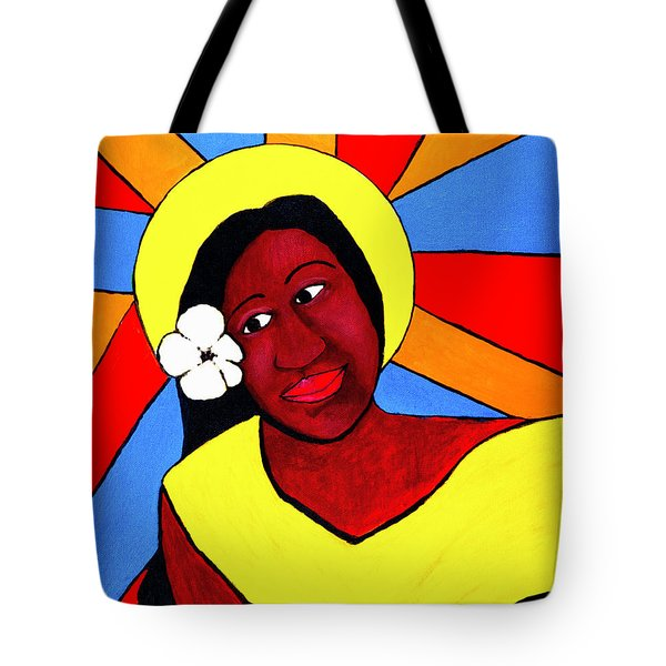 Native Queen Tote Bag