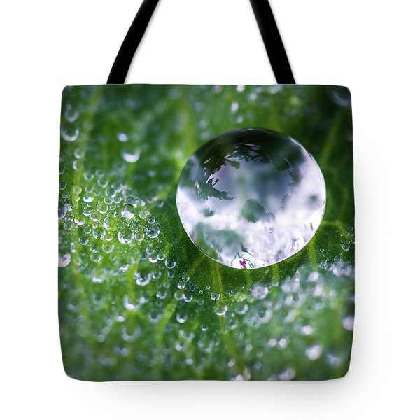 Natures Crystal Ball Tote Bag