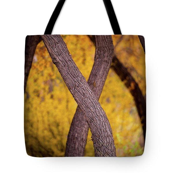 Nature's Font Tote Bag