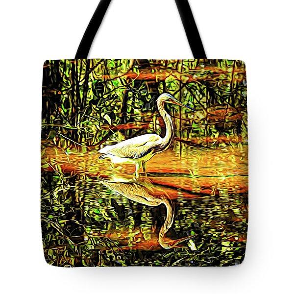 Nature's Mirror Tote Bag