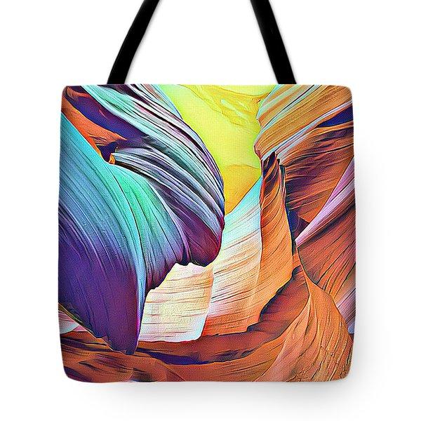 Nature's Powerful Ways Tote Bag