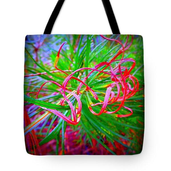 Nature's  Ribbons Tote Bag