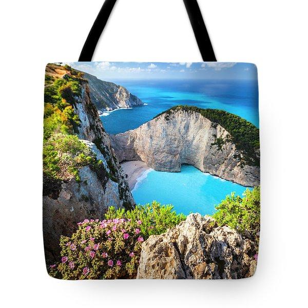 Navagio Bay Tote Bag