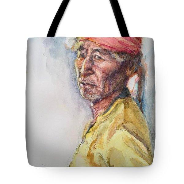 Navaho Man Tote Bag