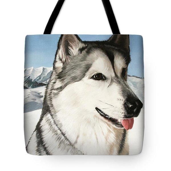 Nayuk Alaska Malamute Tote Bag