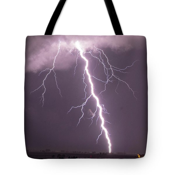 Nebraska Arcus And Lightning 046 Tote Bag