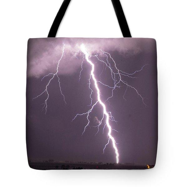 Nebraska Arcus And Lightning 046 Tote Bag