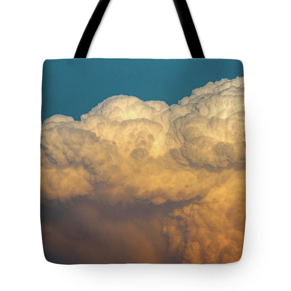 Nebraska Sunset Thunderheads 053 Tote Bag