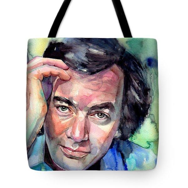 Neil Diamond Portrait I Tote Bag