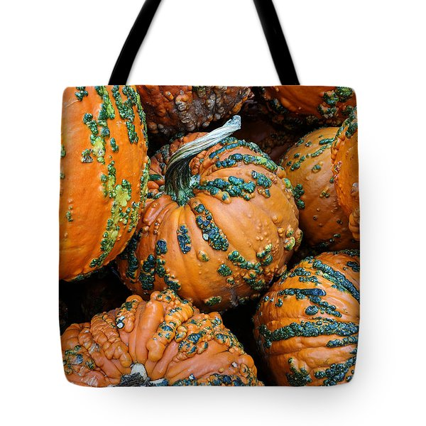 Nestled - Autumn Pumpkins Tote Bag