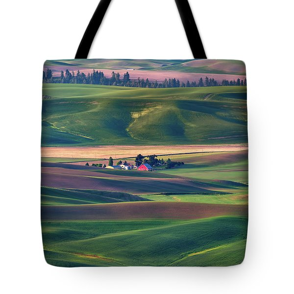 Nestled In The Hills Tote Bag