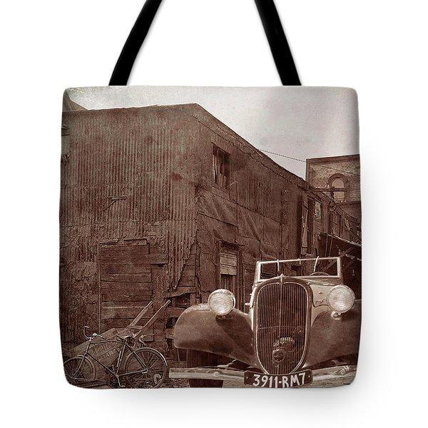 New 1936 Citroen Old Neighborhood Tote Bag