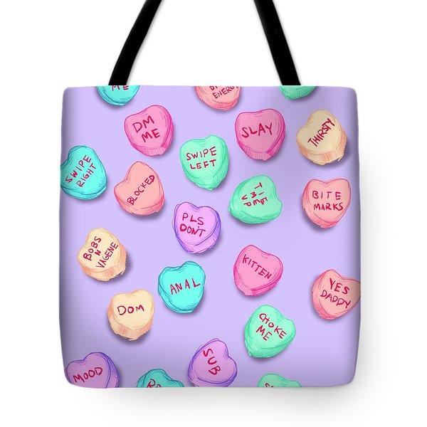 New Convo Hearts Tote Bag