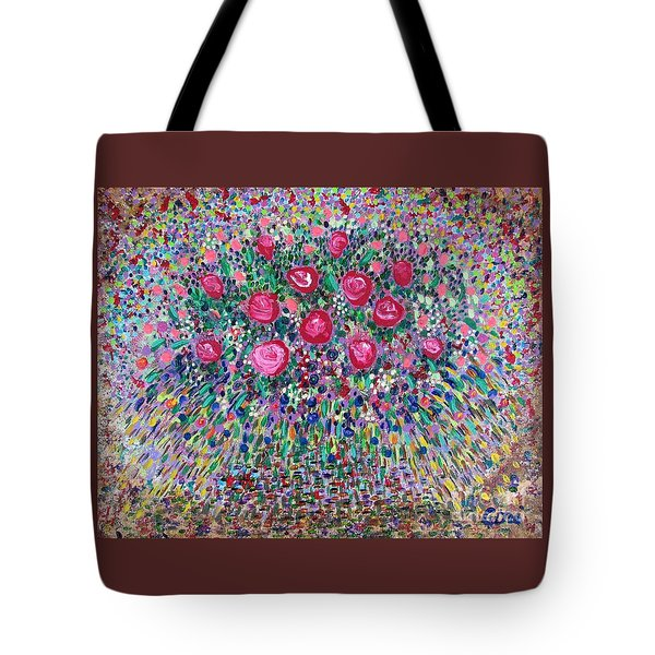Tote Bag featuring the painting New Life by Corinne Carroll