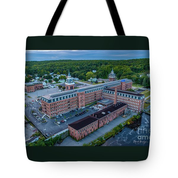 Tote Bag featuring the photograph New Life For An Old Mill by Michael Hughes