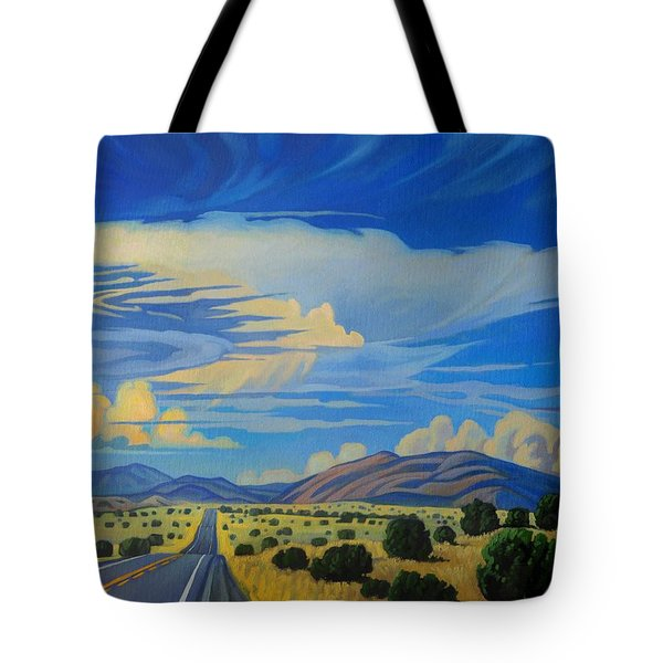 New Mexico Cloud Patterns Tote Bag