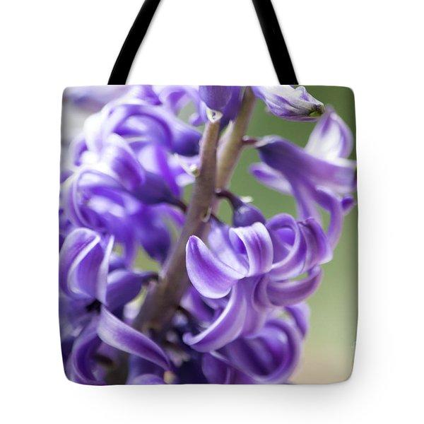 New Year Purple Tote Bag