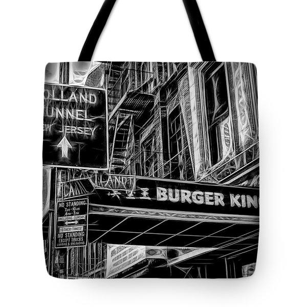 New York City Signs Tote Bag