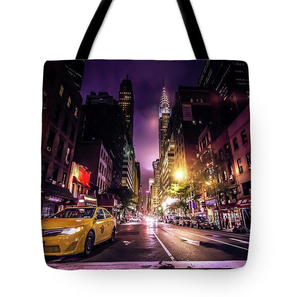 New York City Street Tote Bag